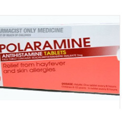 Polaramine Tablets