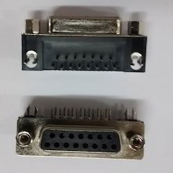 3-15- Pin- Female D Type Connector