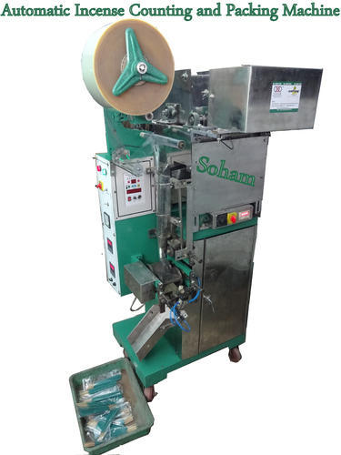 Pneumatic Based Agarbatti Packing Machine