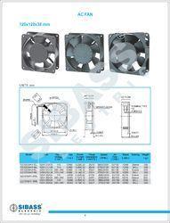 Axial Flow Fans 120x1200x38mm. 12v,24v,48v,110v,220v