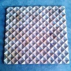 Teak Diamond Pattern Mosaic Tile