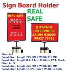Sign Board Holder