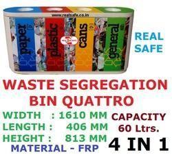 Waste Segregation Bin Quattro