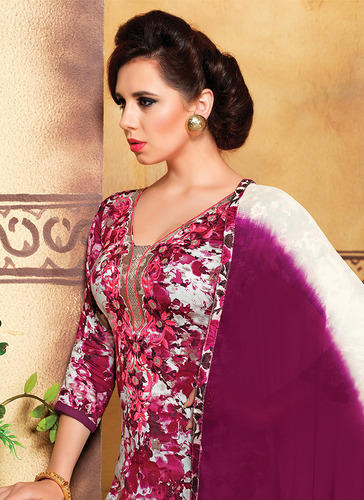 Embroidery Cotton  Dress Material