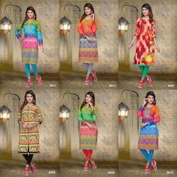 Pure Cambric Cotton Kurti