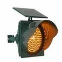 Solar Traffic Blinker Amber