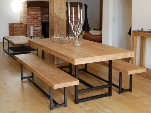 Beau Metal Wood Furniture