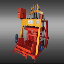 Global 860 Jumbo Hydraulic Concrete Block Making Machine