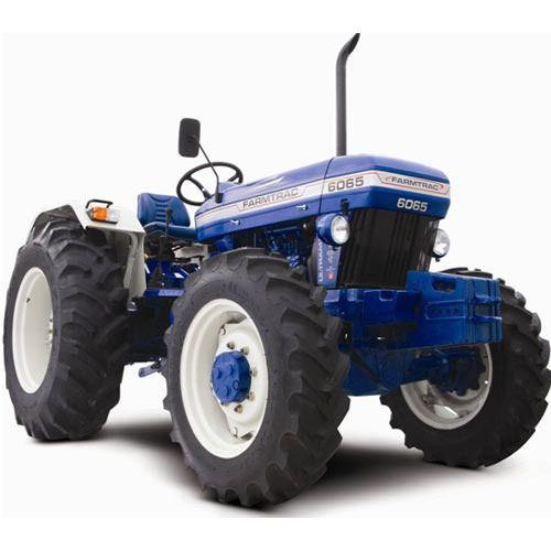 Farmtrac 6065 65 H.P 4WD Tractor