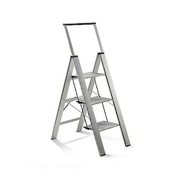 Aluminum Three Step Ladder for Homes