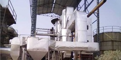 steam boiler and thermopac plant