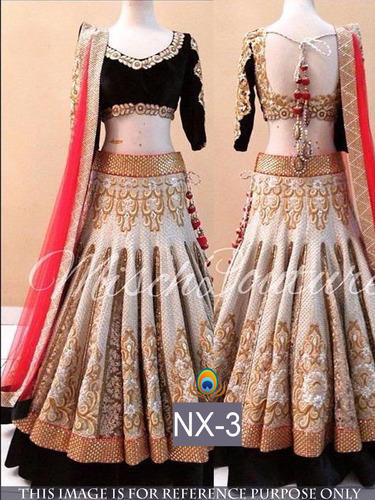 Wedding Lehenga Indo Western Designer Lehenga