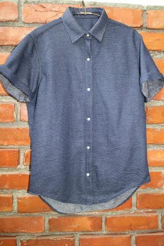 Indigo Knitted Shirt