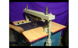 Ajya Lever Arch Mechanism Eyeleting Machine