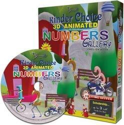 preschool books with 3d animation cartoon dvd