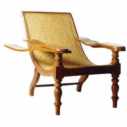 Teakwood Colonial Planters Chair