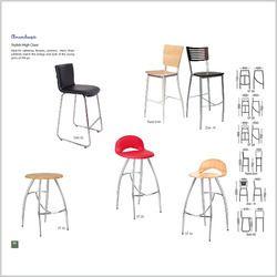 Stylish High Cafe Chair