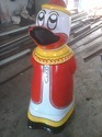FRP Donald Duck Dustbin