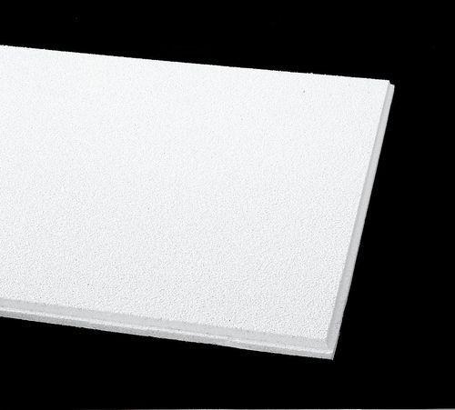 Black acoustic ceiling tiles