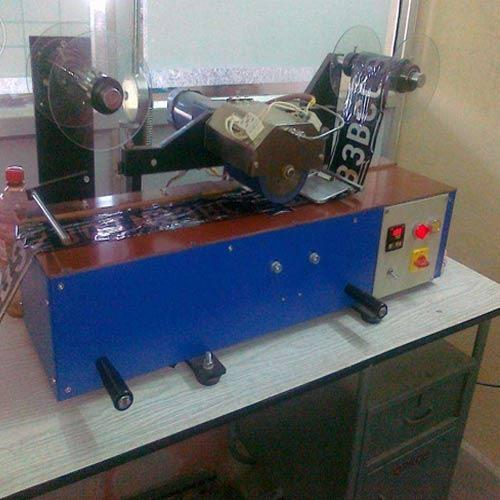 Number Plate Foiling Machine