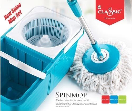 Floor Mop Wiper Classic Spinning Mop