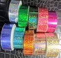 Holographic Sticky Tapes For Hula Hoops