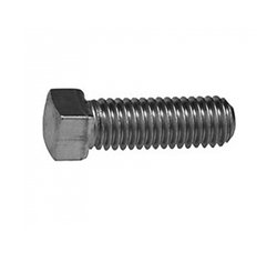 White Square Head Tool Post Screw