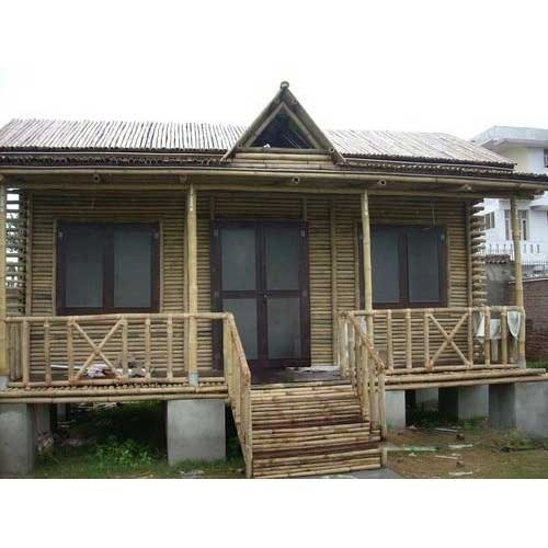 Bamboo House Big Bamboo House Manufacturer From Faridabad