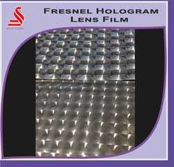 Metallized Fresnel Lens Films