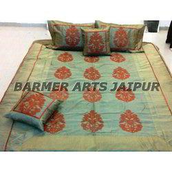 Silk Embroidery Bed Cover Samurai Boota