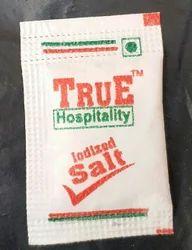 White Salt Sachet