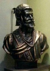 Shivaji Maharaj Bronze Bust