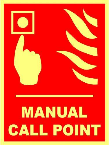 Fire Safety Sign  Manual Call Point Sign Manufacturer From Chennai