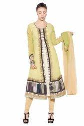 Designer Party wear Long Suit Salwar Suit Kurti