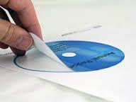 Custom Printed CD Sticker