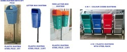 Pole Mounted Dustbins