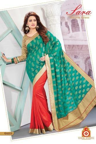 Exclusive Elegant Beautiful Chiffon Saree