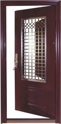 Safety Door Modern Wooden Safety Door Manufacturer From