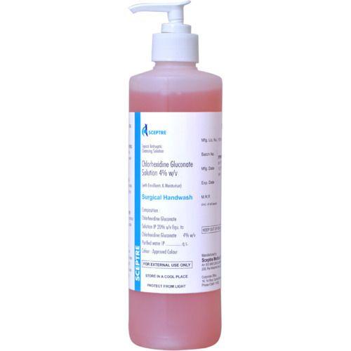 Hand Rub(Chlorhexidine Gluconate & Ethyl Alcohol Solutions