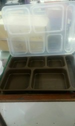 Plastic Plate With Lid