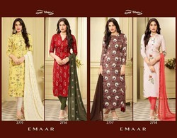 Rayon Cotton Suits