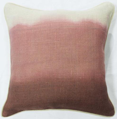Soft Jute Ombre Dyed Cushion