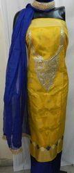 Aaditri Party Wear Banarasi Gota Patti Suit