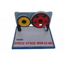 Single Stage Spur Gears Model
