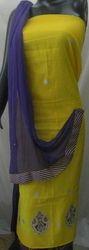 Aaditri Gorgeous Chanderi Gota Patti Dress Material