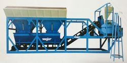 Batching Plant With Pan Mixer