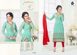 Designer Fancy Georgette Suit