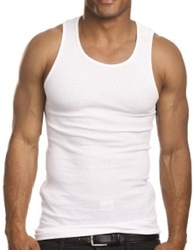 Mens Plain Cotton Vest
