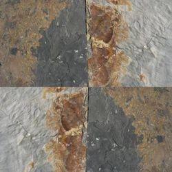 Brown and Gray Slate Stone Tiles