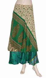 Multi Wear Saree Wrap Skirt